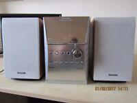 Panasonic CD STEREO SYSTEM SA-PM41