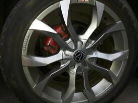 18 inches alloy wheels
