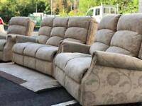 3+2+1 Seater Fabric Sofas (@07752751518)