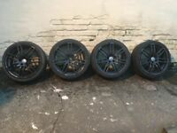 Black Alloy Wheels 19 inch