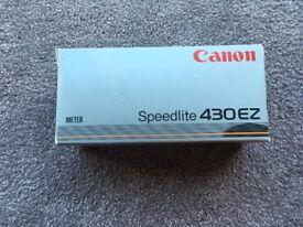 Canon speed lite 430ez