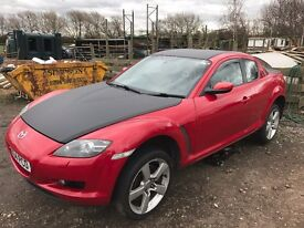 2004 Mazda RX-8 231PS Velocity Red 97885 miles