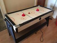 Half size combo Air Hockey / Pool Table - fan broken