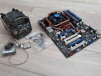 ASUS STRIKER EXTREME SOCKET 775 GAMING PC MOTHERBOARD / Quad core Q6600 / 8GB Memory