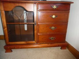 Smith and Newton music centre unit/sideboard