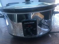 Morphy Richards ceramic slow cooker