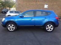 Nissan Qashqai ACENTA (EJ09 OVR) 2009 1.5 DIESEL. 2 FORMER KEEPERS MOT JANUARY 2017. 2 KEYS
