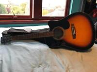 Electro Acoustic Guitar - Built in tuner, Volume controls