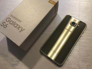 Samsung Galaxy S6 32GB Gold - UNLOCKED w/FREEDOM - Guaranteed Activation + No Blacklist