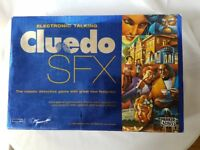 Electronic Talking Cluedo SFX Parker Board Game 2003