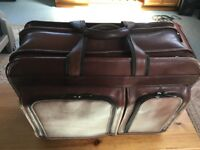 Real leather business / computer bag