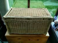 Wicker Toybox