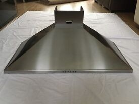 Stoves 1000mm cooker hood, stainless steel, vgc, multiple fan settings, cost £475 new