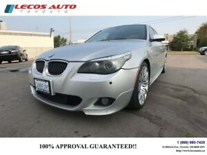 2010 BMW 5 Series 550i/Navigation/M Sport