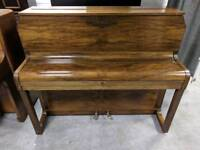 Immaculate Walnut 'Dagmar' Upright Console Piano - CAN DELIVER