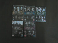 Spiral (Engrenages) DVDs Seasons 1-5