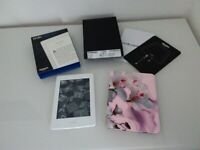 KINDLE paperwhite e-reader. AS NEW. Comes with a Ted Baker leather case. TOTALLY UNMARKED. for sale  Bromborough, Merseyside