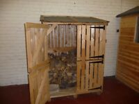 Log store assembled for sale