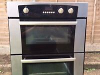 Belling Double Oven with fan in good condition