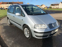 2007 VOLKSWAGEN SHARAN 1.9 TDI PD S DSG AUTOMATIC DIESEL 7 SEATER MPV, NOT GALAXY PICASSO TOURAN