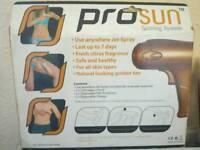 Prosun tanning kit