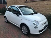 2015(65) Fiat 500 1.2 Pop - 1 Previous Owner Start/Stop 27,800 mileage, £20 TAX