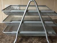 Filing tray 3 tier