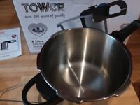 Tower 6 litre pressure cooker for £25
