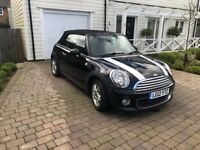2012 MINI ONE CONVERTIBLE 1.6 - ONLY 57500 MILES - 1YEAR MOT - FULL SERVICE HISTORY