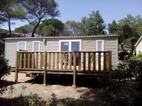 Mobile Home, Frejus, French Riviera, France