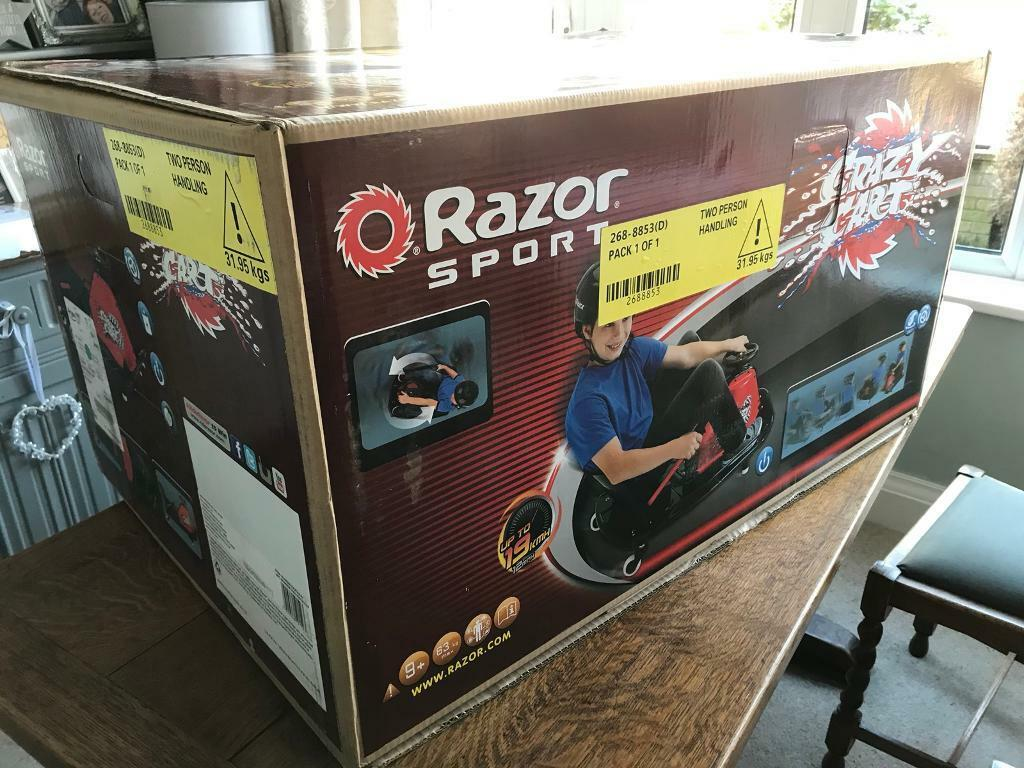 Razor Crazy Cart Full Warrenty Brand new boxed