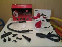 """NEW+UNUSED+BOXED """"HOOVER"""" 1000W HANDY STEAM CLEANER"""