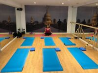 Yoga for beginners- Sundays 10 AM at FitStudioZ, SE10 0RA