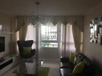 Curtains swags and tails Pelmet