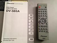 PIONEER DV-565A-S DVD PLAYER