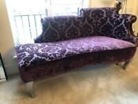 Large chaise langue