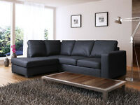 SALE PRICES ***MODERN DESIGN corner sofa in a choice of 4 colours...Left and right hand available