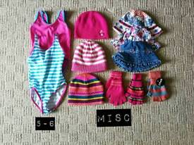 65 items of girls clothing from 18 months upwards