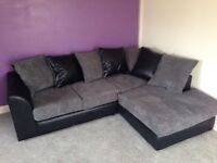 NEW JUMBO OCRD CORNER SOFA CAN DELIVER FREE
