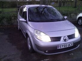 1 year MOT Renault G Scenic 1.5dci.p/x to clear