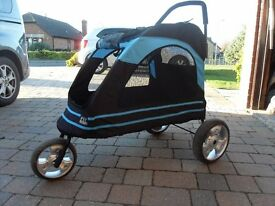 PETGEAR DOG STROLLER - RECENT PURCHASE HARDLY USED.