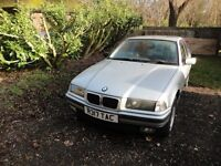 BMW 318I SE, E36. 99K, SUPERB CONDITION.. Can be sold without the alloys for £200!