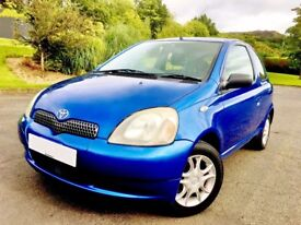 THE MOST IMMACULATE TOYOTA WITH VERY LOW MILEAGE 60 MPG WITH FULL SERVICE HISTORY.