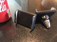 Smartphone car vent mounts x 3