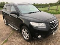 2010 Hyundai Santa Fe PREMIUM 2.2CRDI 4X4 7 seater Full leather FHSH 6mth warranty