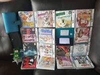 Aqua 3DS with 18 games