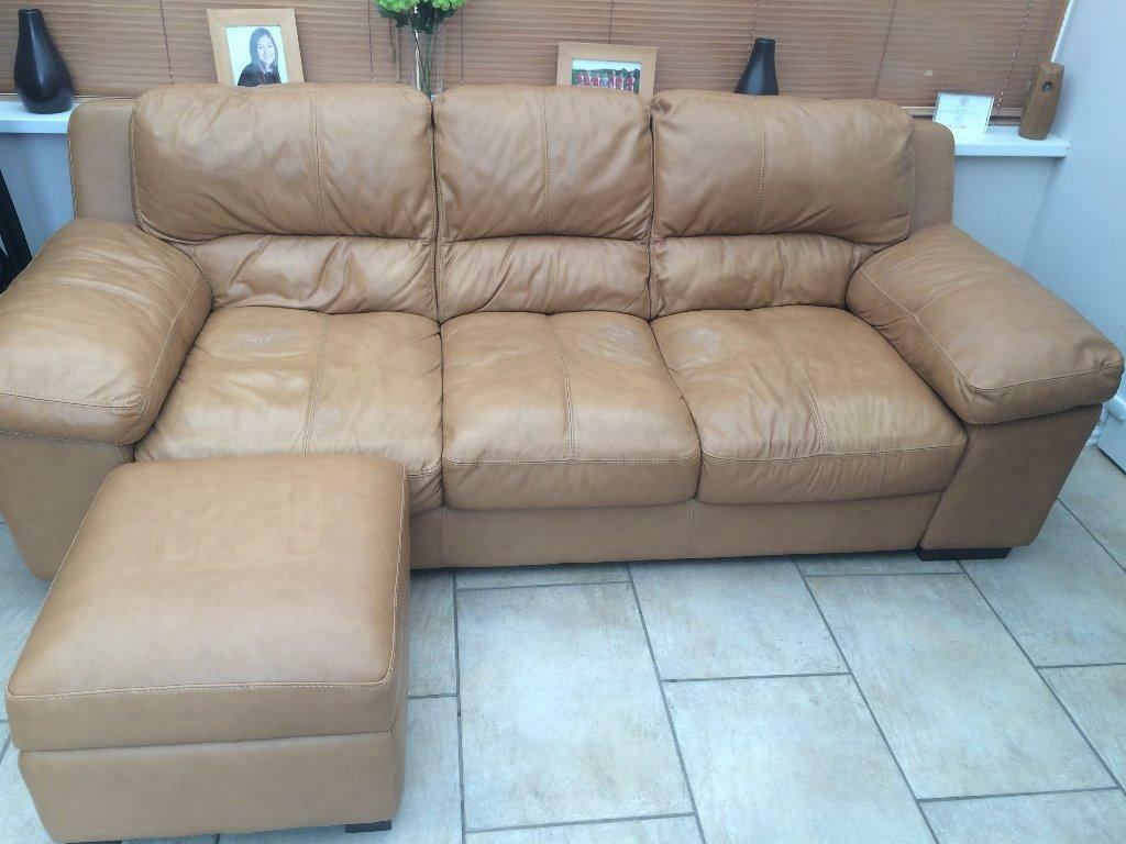 Sofa With Footstool In Sheffield South Yorkshire Gumtree