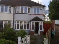 3 bedroom house to let in Perry Barr
