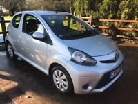 2012 Toyota Aygo 1.0 VVT-i Ice 3dr * HALF LEATHER + AIRCON *