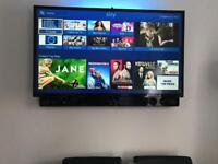 "Hitachi 43"" SMART HD LED TV plus LG wireless Soundbar 200w ( sold as package )"